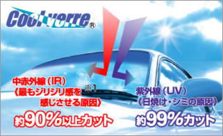 クールベールミドリ自動車ガラス交換002