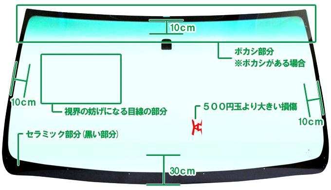 自動車フロントガラス交換横浜神奈川リペア001